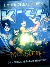 Kiss - Monster Zine Pack LIMITED EDITION CD + Exclusive 64 Page Magazine ( New )