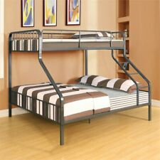 ACME Furniture Caius Twin XL over Queen Bunk Bed in Gunmetal