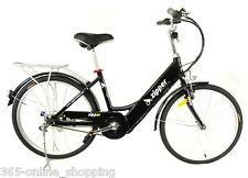 """24"""" Z5 Ultimate 21 Speed Electric Commuting Economical E-Bike Midnight Blue"""
