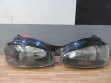 SCHEINWERFER links rechts + Opel Corsa B + Licht Schwarz Frontscheinwerfer