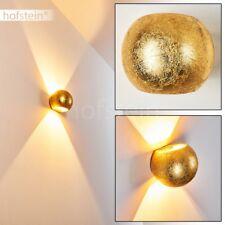 goldfarbene Keramik Wohn Schlaf Raum Beleuchtung Up Down Flur Dielen Wand Lampen