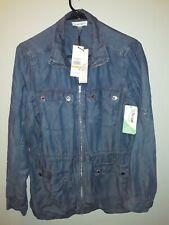 NWT Calvin Klein Chambray utility jacket US S