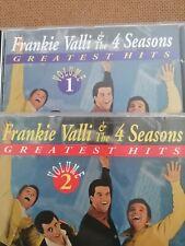 Frankie Valli & The 4 Seasons CDs Greatest Hits Vol.1&2