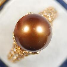18 Carat Yellow Gold Fine Pearl Rings