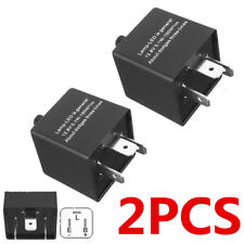 2X Car Flasher Relay Fix LED Turn Signal Blinker Light Hyper Flash 3 Pin CF14 US