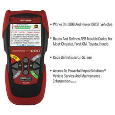 Craftsman OBD2 + ABS Automotive Diagnostic Scan Tool