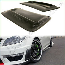 Fit C204 W204 BENZ 12-14 C63AMG Bumper Carbon Fiber Air Vent Induct 2 Side Cover