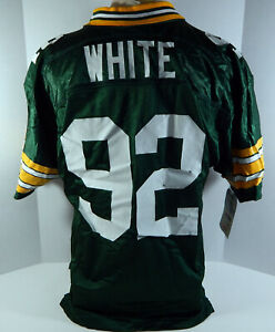 Green Bay Packers Reggie White #92 Authentic Green Jersey Wilson NWT 48 611