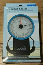Travels Travel Luggage Scales Analogue Up to 32kg