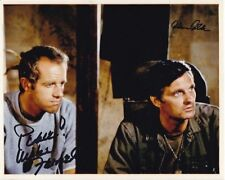 ALAN ALDA & MIKE FARRELL Signed M*A*S*H HAWKEYE & B.J. Photo w/ Hologram COA