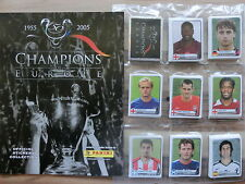PANINI CHAMPIONS LEAGUE OF EUROPE  * KOMPLETTSET COMPLETE SET*EMPTY ALBUM