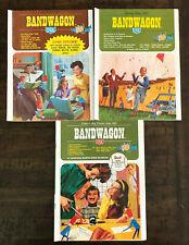 Lot of 3 Vintage 1967 Bandwagon USA Gifts Catalog Jewelry Housewares Toys Books