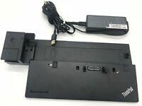 Lenovo Pro Dock X240 T440 T540p 40A10065US 40A10090US 40A1 04W3948 65w charger