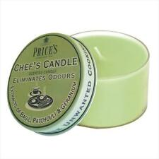 Price's Chefs Candle Tin jar - Eliminates neutralise Kitchen Cooking Odours NEW
