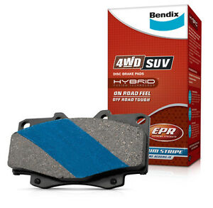 BENDIX 4WD BRAKE PAD FRONT DB1199 FOR TOYOTA 4 RUNNER SR5 1990 - 1996