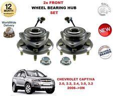 CHEVROLET CAPTIVA 2006> NUEVO 2x rueda delantera Cojinete Cubo ABS Sensor Kit