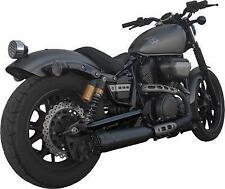 FireBrand - 18-1002 - Black 4 Grand Prix Slip-On Exhaust 1801-0891 940-5990BK