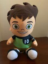 BEN 10 Ben Tennyson Cartoon Network Plush Stuffed Toy Green BK