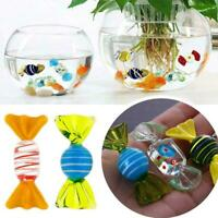 5Pcs Vintage glass sweets wedding party candy Christmas decoration gift