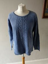 VINTAGE RETRO WOMENS STUNNING EMBELLISHED KNIT WEAR UNIQUE JUMPER TOP 14 16