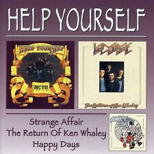 Help Yourself - Strange Affair / Return of Ken Whaley Plus Happy [New CD] UK - I