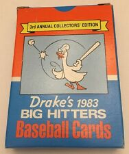 1983 Topps Drake's Big Hitters Baseball Card Factory Box Set (33 cards)