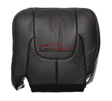2003 Dodge Ram Laramie DRIVER Bottom Replacement Leather Seat Cover Dark Gray