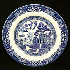 "Blue Willow Plate Royal Cuthbertson 7.5"" Swirl Salad Dessert Luncheon Bread New"