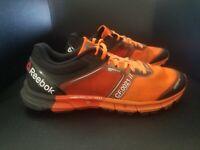 Reebok crossfit Cr5ft Mens size 12 orange Lifting Training Shoes