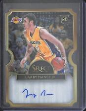 2015-16 Panini Select Basketball Autograph #34 Larry Nance Jr. No 21 of 60