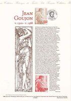 Document Philatélique Timbre 1er Jour : 13/02/ 1999 - Jean Goujon