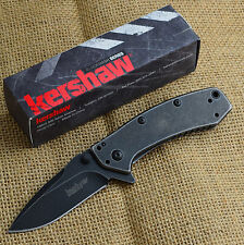 Kershaw Cryo Hinderer 8Cr13MoV Blackwash Assisted Opening Knife 1555BW