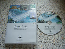 MERCEDES BENZ DVD COMAND EUROPE 4.1 SATELLITE NAVIGATION SAT NAV DISC FREE P&P