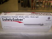 Rocket Science Safety Saber - Megaphone - Flashlight - Whistle - Strobe Light