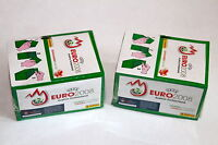Panini EM Euro 2008 08 – 2 x Display Box GRÜN GREEN sealed/OVP RARE SHINY!