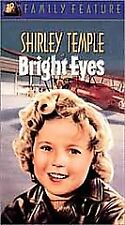 New Bright Eyes VHS Tape, Shirley Temple Movie, Good Ship Lollipop Comedy Drama