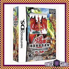 Bakugan Defenders of the Core & Action Figure (Nintendo NDS DS lite Dsi XL) BN