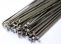 Hi-Tech 14G Bmx Wheel Spokes /& Nipples Black Stainless Steel 60 Pack 192mm