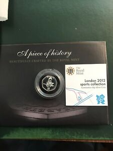 2012 London Olympics 50 Pence silver Dated 2011