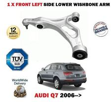 FOR AUDI Q7 4L 2006-> FRONT AXLE LEFT SIDE LOWER WISHBONE SUSPENSION ARM