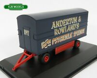 BNIB OO GAUGE OXFORD 1:76 76DTR002 Traction Engine Trailer Anderton & Rowlands