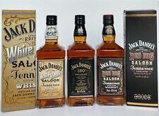 Jack daniels White Rabbit & Red Dog Saloon & 150th 2016 Birthday whiskey bottle