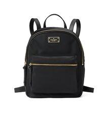 Kate Spade * Small Bradley Backpack Wilson Road Black Nylon Bag WKRU4717
