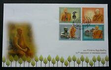 Thailand 100th Anniversary Of Panyananda Bhikkhu 2011 Buddha (stamp FDC)
