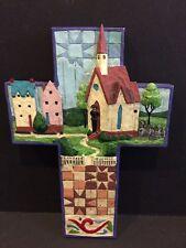 Jim Shore - Cross #4007046 - Village Church (2006)