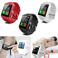 Smartwatch Bluetooth Armbanduhr Sport für iOS Android iPhone Samsung Handy HTC
