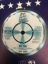 "RICK JAMES BIG TIME / ISLAND LADY 1980 MOTOWN SOUL 7"" VINYL"