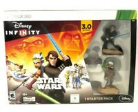 XBOX 360 DISNEY INFINITY STAR WARS 3.0 EDITION-1 STARTER PACK-IN SEALED BOX