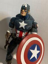 "CAPTAIN AMERICA 6"" action figure 2006 Toy Biz Marvel Legends Face Off"