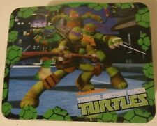 Tmnt Teenage Mutant Ninja Turtles Embossed Metal Lunchbox No Thermos Excellent